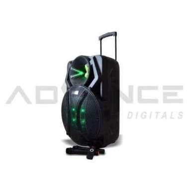 Speaker Portable Bluetooth 18 Inch Advance K1812 Limited