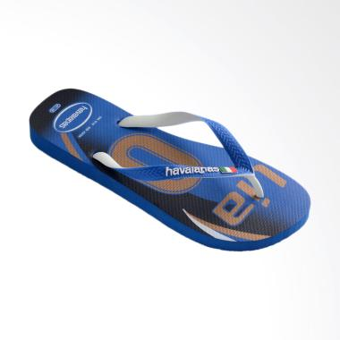 Havaianas Italy Men Teams III Sandal Flip Flop Pria - Blue [CF 3847]