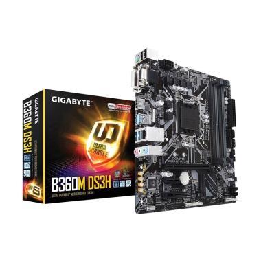 Gigabyte B360M DS3H Motherboard [Mi ... /4xDDR4/D-Sub/DVI-D/HDMI]