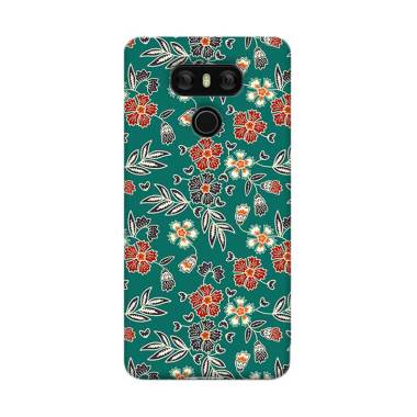 Premiumcaseid Cute Floral Batik Art Hardcase Casing for LG G6