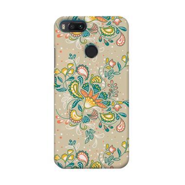 Premiumcaseid Batik Shabby Floral Art Hardcase Casing for Xiaomi Mi A1