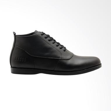 Brodo Sima E+ Sepatu Boots Pria - Full Black