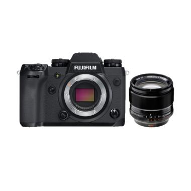 Fujifilm X-H1 Body + XF 56mm f/1.2  ...  NP-W126S*  GARANSI RESMI