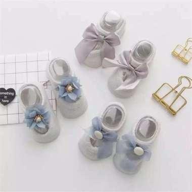 harga FREE ONGKIR Sepatu Bayi Kaos kaki anak baby perempuan socks newborn pre walker Blibli.com