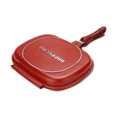Happy Call Double Pan Jumbo Anti Lengket Peralatan Memasak [32 cm]