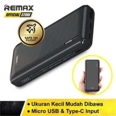 Unik Powerbank Remax Janshon 10000 mAh RPP-153 Garansi Resmi - Hitam Diskon