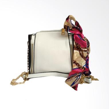 Fashion 0930020543-1 Tas Selempang Wanita - White