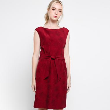 Vesperine Momo DD474MI Dress Wanita - Claret