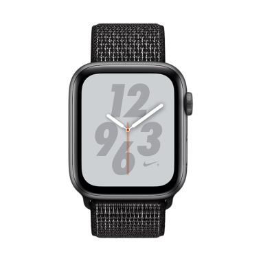 Kamis Ganteng - Apple Watch Series 4 Nike+ Aluminum Case with Black Nike  Sport Loop Smartwatch - Space Gray  44mm  GPS  956d840531