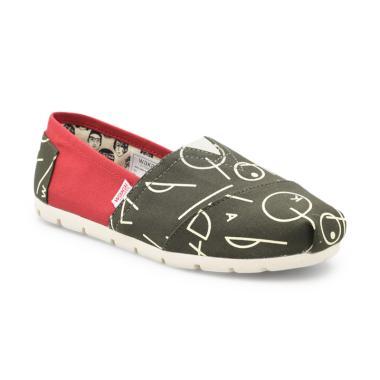 Wakai WAK-SW018183-SHAPE Sepatu Wanita - Green 8e5208e4bc