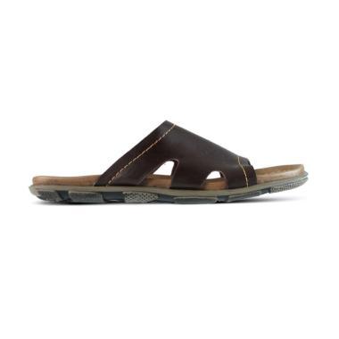 Golfer Kulit Sandal Casual Pria [0187]