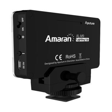 Aputure AL-M9 Portable LED Video Fill Light - Black