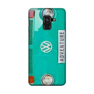 harga Indocustomcase VW Old Combi Adventure Green Tosca Cover Casing for Samsung Galaxy A6 Blibli.com