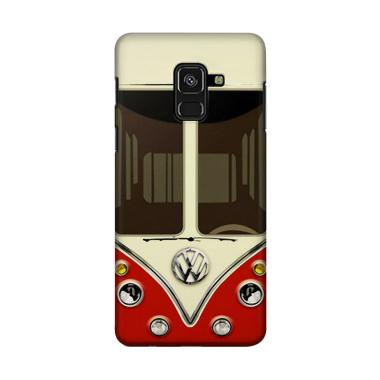 harga Indocustomcase VW Old Combi Adventure Red 2 Cover Casing for Samsung Galaxy A6 Blibli.com