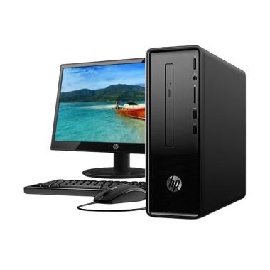 harga JCC CPUCOM - HP 290-P0033D All In One PC - Black [Core i5-8400/ 4GB/ 1TB/Windows 10] Blibli.com
