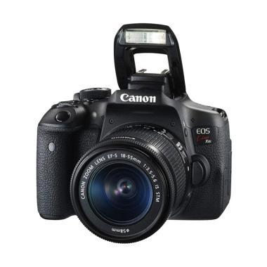 Canon EOS 750D Kamera DSLR #01 BLACK