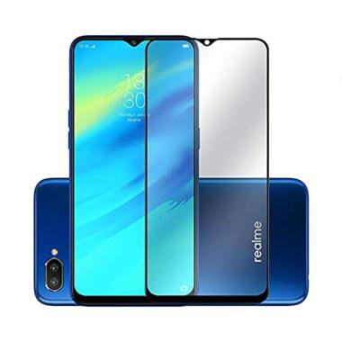 Grace Tempered Glass Screen Protector for Oppo Realme 2 Pro 6.3 Inch - Lis Hitam [2.5D/ Full Screen]