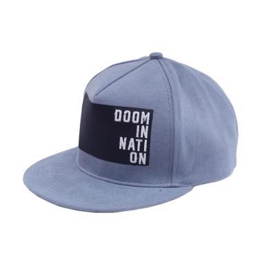 HRCN Doom In Nation 80 ID Topi Snapback Pria - Grey 743aaed11f