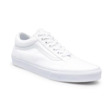 Vans U Old Skool Sepatu Pria - White