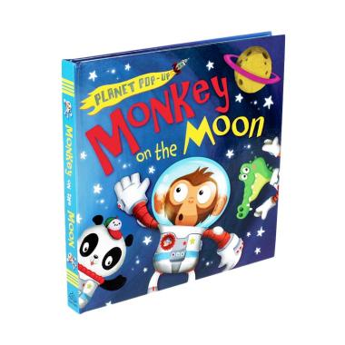 harga Caterpillar Books Genius Planet Pop-up Monkey on the Moon Pop-up Book Buku Anak Blibli.com