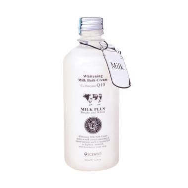 harga BEAUTY BUFFET Scentio Milk Plus Whitening Q10 Bath Sabun Mandi Blibli.com