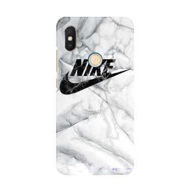 8f6f9574062a Flazzstore White Marble Nike E1396 Premium Casing for Xiaomi Redmi 6 Pro