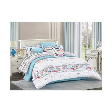 Pantone Ralph Set Sprei dan Bed Cover