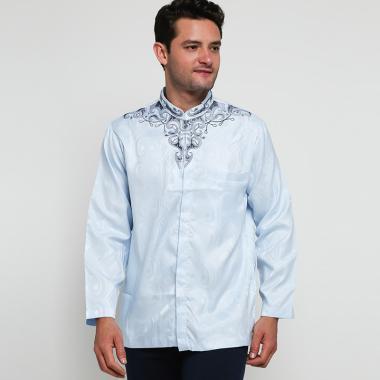 Batik Arjunaweda AW 11 Baju Koko Pria - Biru [97045026]