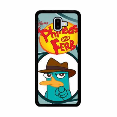 harga Flazzstore Perry Platypus W3175 Premium Casing for Samsung Galaxy J6 Plus Blibli.com