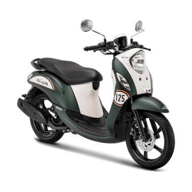 harga Yamaha New Fino Sporty 125 Blue Core Sepeda Motor [VIN 2019- OTR Jawa Barat] Blibli.com
