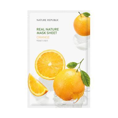 harga Nature Republic Orange Real Nature Mask Sheet Blibli.com