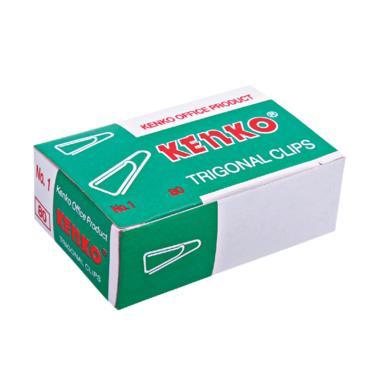 Kenko No.1 Triagonal Paper Clip [1 Pack]