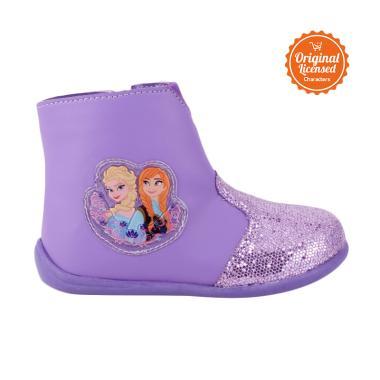 harga Disney Frozen Boots Shoes Gliter Kids Sepatu Anak Perempuan - Purple Blibli.com