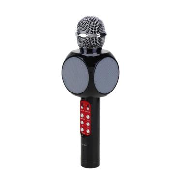 Best WS-1816 Wireless Bluetooth Microphone Speaker with LED RGB