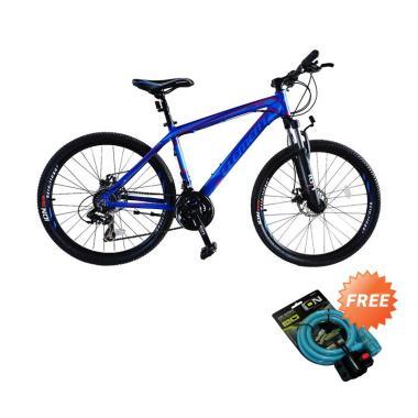harga Element Format Sepeda MTB - Biru [26 Inch] + Free Kunci 2515 Blibli.com