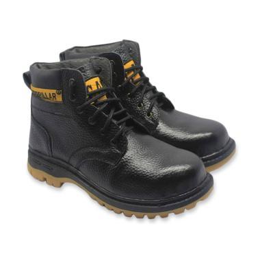 Caterpillar Kulit Asli Sepatu Boot Safety Pria - Hit... Rp 210.000 Rp ... cad7ae805b