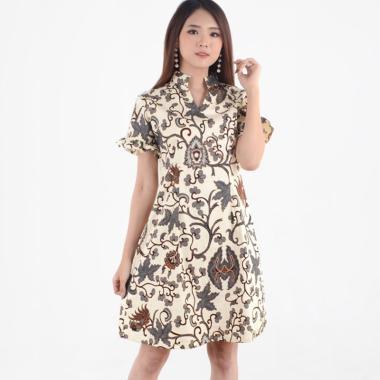 Evercloth Planca Dress Batik Terusan Wanita