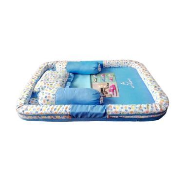 OMILAND OBK5221 Kasur Kolam dan Kelambu Kojong Forest Series Lc Set Tempat Tidur Bayi