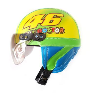 Cicimonmon Special Kids Limited Edition Valentino Rossi The Docter Helm Anak