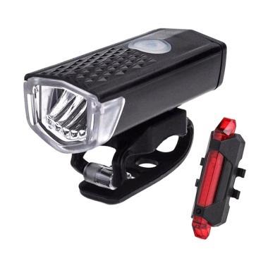 harga Best Lampu LED USB Rechargeable untuk Depan - Belakang Sepeda Blibli.com
