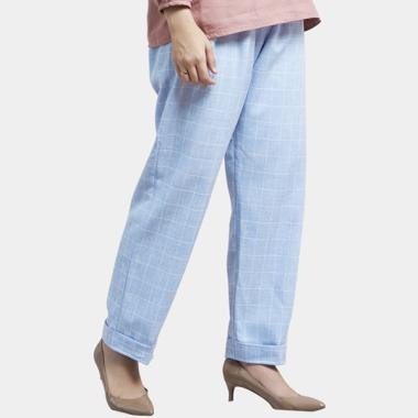 harga Cotton Bee Lindey Square Women's Long Pant - Beyond Blue Blibli.com