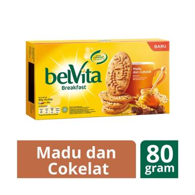 WHS - Belvita 7622210609397 Madu & Coklat Biskuit [80 g]