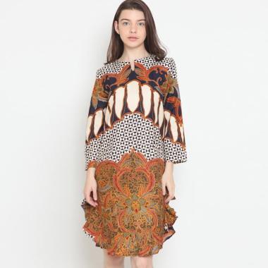 Batik Semar Kc 41 Db Nania Tunic Sekar Panjunjung Atasan Batik Wanita