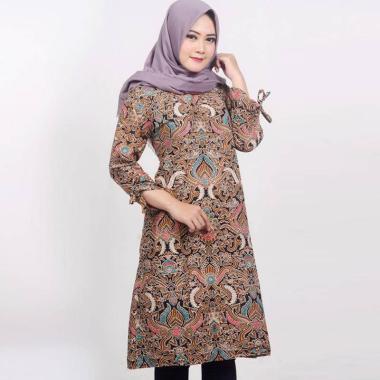 Batik Prass Motif Cirebon Tunik Batik Wanita