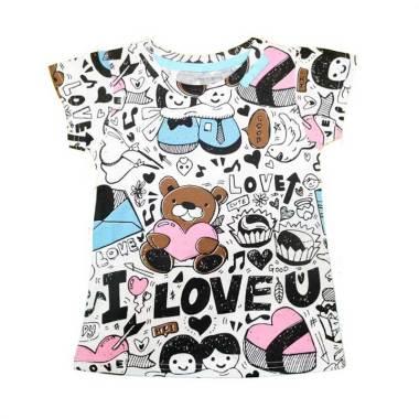 harga Joyful. Motif Couple Heart Baju Atasan Anak Perempuan Blibli.com