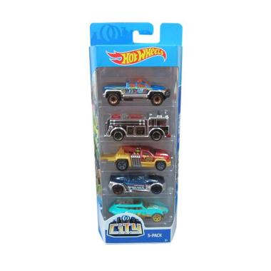 Hot Wheels Gift Pack City Diecast [5 Pack]