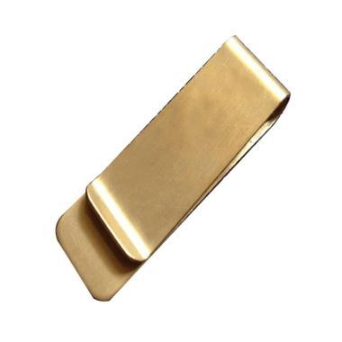 harga Bluelans Stainless Steel Brass Banknote Holder Credit Card ID Cash Wallet Money Clips Blibli.com