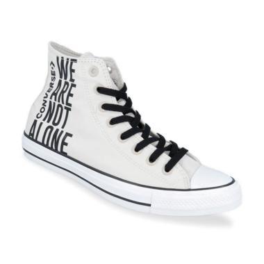 Converse Chuck Taylor All Star We Are Not Alone High Top Sepatu Sneaker Pria