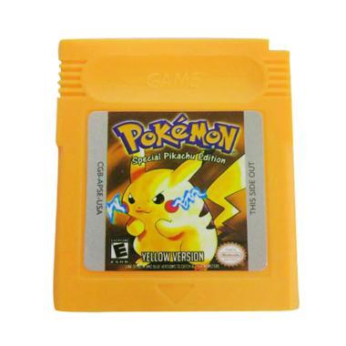 harga Bluelans Pokemon Series Game Boy Color - Yellow Blibli.com