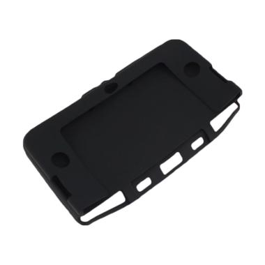 harga Bluelans Soft Silicone Protective Case Cover Skin for Nintendo 3DS XL/LL Game Console - Black Blibli.com